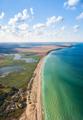 Aerial panoramic view of picturesque coastline - PhotoDune Item for Sale