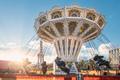 Carousel of the amusement park - PhotoDune Item for Sale
