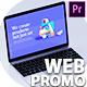 Modern Website Promo Premiere Pro