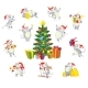 Christmas Mouses Set - GraphicRiver Item for Sale