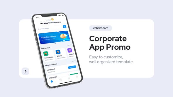 Corporate App Promo