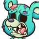 Green Zombie Bear - GraphicRiver Item for Sale