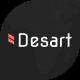 Desart - Creative Web Design Studio Figma UI Template - ThemeForest Item for Sale