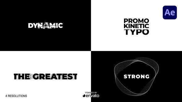 Promo Kinetic Typography