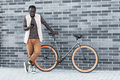 Stylish Man With Bicycle - PhotoDune Item for Sale