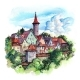 Rothenburg Ob Der Tauber Germany - GraphicRiver Item for Sale