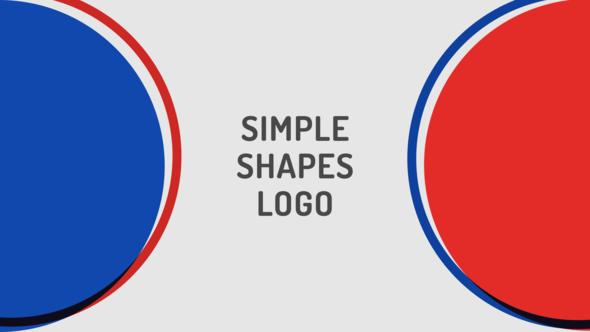 Simple Shapes Logo For Premiere Pro