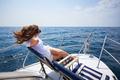Enjoying a sailing trip - PhotoDune Item for Sale
