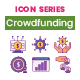 75 Crowdfunding Icons | Wildberry Series - GraphicRiver Item for Sale