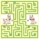 Help the Character to Find a Way Out of the Maze - GraphicRiver Item for Sale