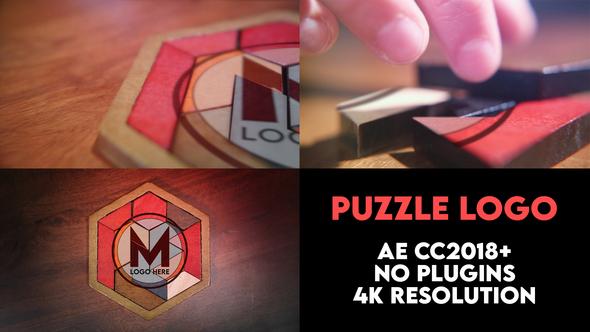Puzzle Logo Intro