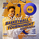 Street Basketball Tournament Flyer - GraphicRiver Item for Sale