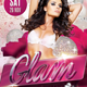 Glam Party Flyer - GraphicRiver Item for Sale