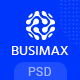 BusiMax - Business and Consulting Services PSD Template - ThemeForest Item for Sale
