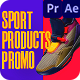 Sport Products Sale Promo. Sneakers - VideoHive Item for Sale