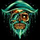Pirate Skull Mascot - GraphicRiver Item for Sale