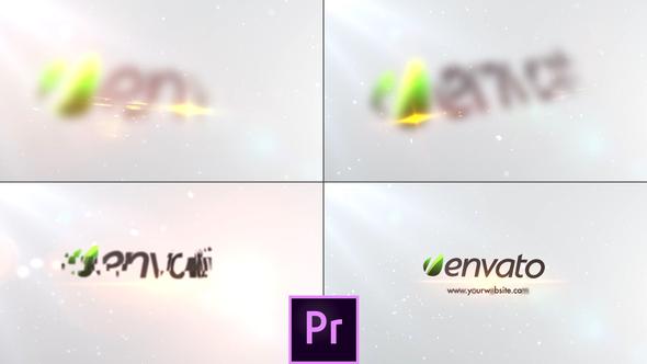Simple Minimal Logo - Premiere Pro
