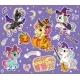 Cute Cartoon Halloween Unicorns Set Vector Purple - GraphicRiver Item for Sale