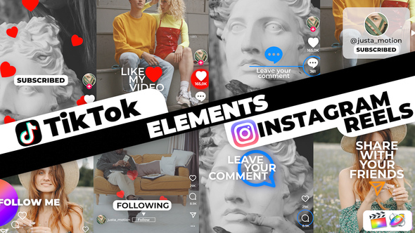 TikTok&Instagram Elements