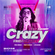 Crazy Party Flyer - GraphicRiver Item for Sale