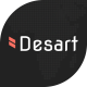 Desart - Creative Web Design Studio XD Template - ThemeForest Item for Sale