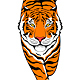 Creeping Up Tiger - GraphicRiver Item for Sale