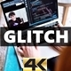 Glitch TV Noise 4K - VideoHive Item for Sale