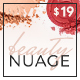 Nuage - Cosmetics & Beauty WordPress Theme - ThemeForest Item for Sale