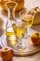 Apple cider with fresh apples and pumpkins for Thanksgiving - PhotoDune Item for Sale