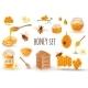 Realistic Honey Production Set - GraphicRiver Item for Sale
