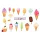 Realistic Ice Cream Set - GraphicRiver Item for Sale