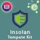 Insolan - Insurance Agency Elementor Template Kit - ThemeForest Item for Sale