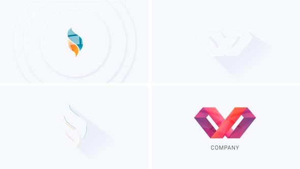 Simple Minimal Logo Reveal