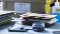 Brush to develop fingerprint powder in crime lab for analysis, concept image - PhotoDune Item for Sale