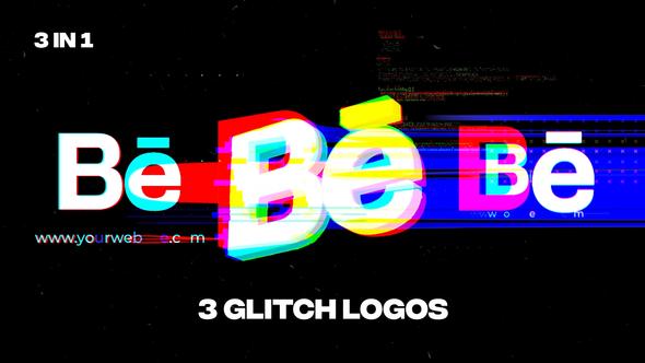 Glitch Logos