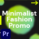 Minimalist Fashion Promo - VideoHive Item for Sale