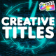 Creative Titles   FCPX - VideoHive Item for Sale