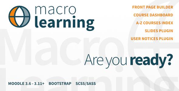 Macro Learning | Premium Moodle Theme