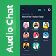 Clubhouse Audio Chat App UI | Clubroom - GraphicRiver Item for Sale