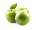 Sweet apples on white backgrounds - PhotoDune Item for Sale