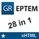 GREPTEM - Business & Portfolio xHTML Theme - ThemeForest Item for Sale