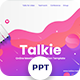 Talkie - Online Meeting Powerpoint Templates - GraphicRiver Item for Sale