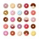 Colorful Donuts with Bright Glaze Set - GraphicRiver Item for Sale