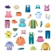 Colorful Clothes for Little Ones Set - GraphicRiver Item for Sale