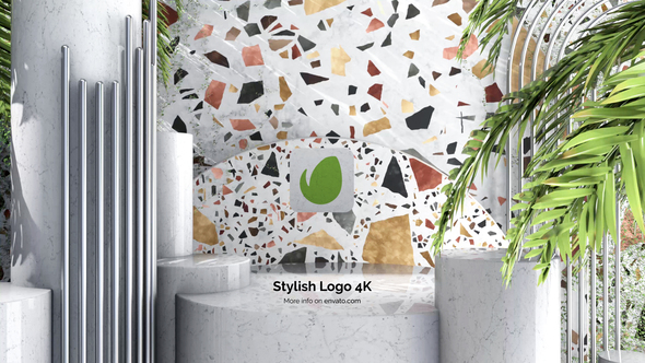 Stylish Logo 4K