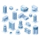 Isometric Urban City Downtown District - GraphicRiver Item for Sale