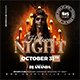 Halloween Party DJ Night - GraphicRiver Item for Sale