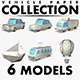 Vehicle Paper Collection volume 1 - 3DOcean Item for Sale