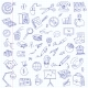 Freehand Drawing Office on a Sheet of Exercise - GraphicRiver Item for Sale