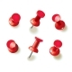 Collection of Various Red Pushpins - GraphicRiver Item for Sale